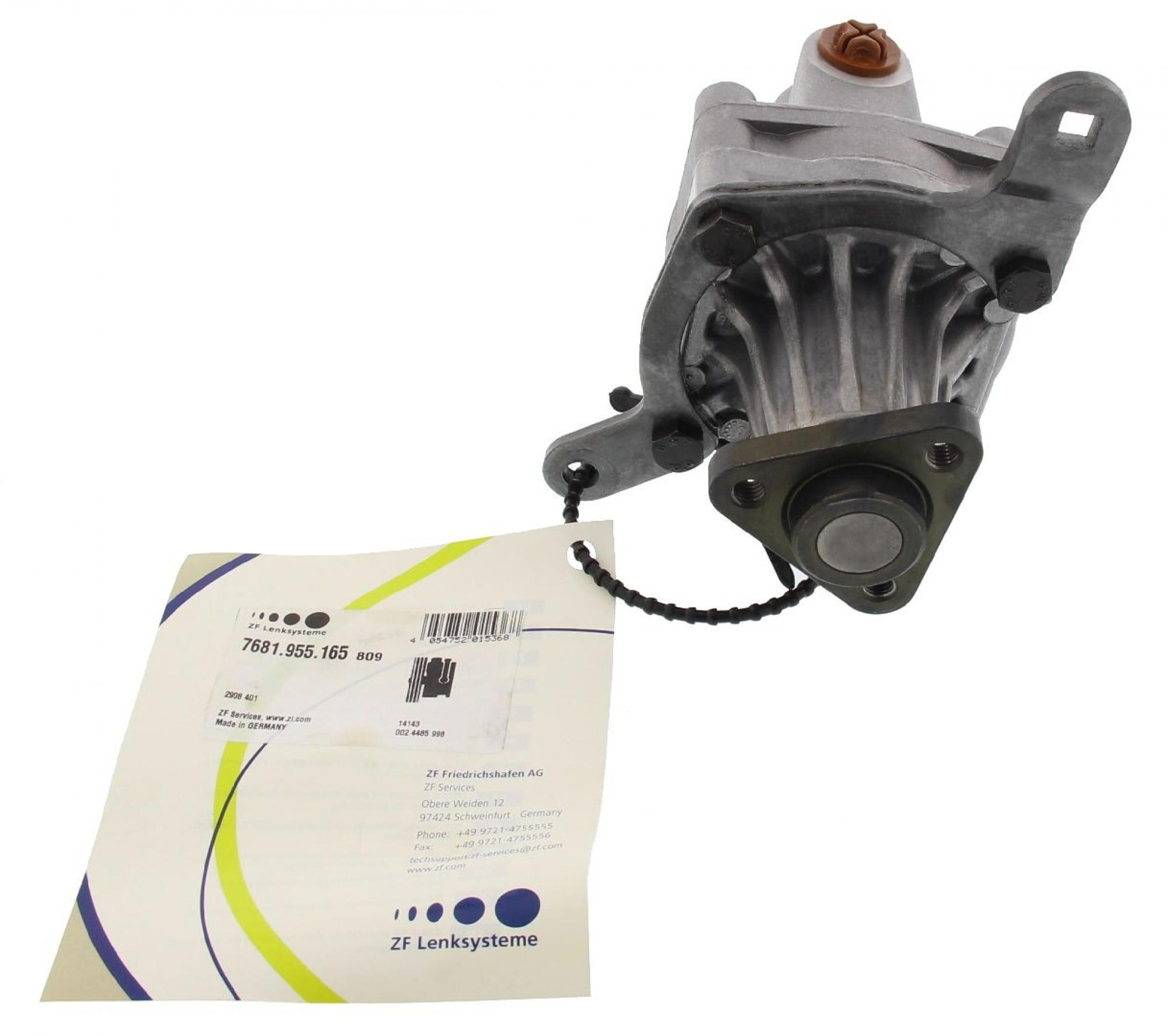 ZF 7681955165 Servopumpe Lenkgetriebe hydraulisch ZF